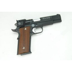 WE M945 full fém GBB airsoft pisztoly fekete