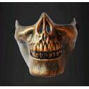 """""""Skull"""" félmaszk """"Copper"""" szivacsos orr résszel"""