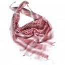 Mil-Tec Arab Shemagh sál Piros-fehér