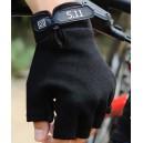 """""""5.11"""" mintájú taktikai félujjas kesztyű fekete """"XL"""" méretben"""