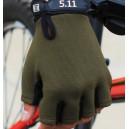 """""""5.11"""" mintájú taktikai félujjas kesztyű """"OD"""" színben """"L"""" méretben"""