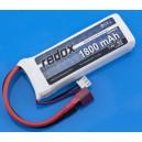 "Redox5109 Li-Po 7,4V 1,800 mAh 20C mini akku ""T"" csatlakozóval"
