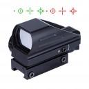 P5000 Pinty Nyílt Red Dot 4 féle célkereszttel, vörös/zöld megvilágítással